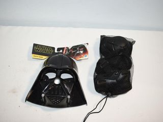 Star Wars Mask and Wrist Knee Guards