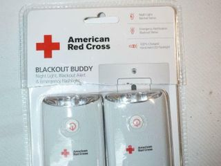 American Red Cross Black Out Buddy