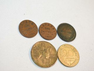 1911Coin  20Centime  20Republika  2  1929 Pennies