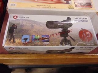 NIB Simmons blazer 20 60 x 60mm spot scope w