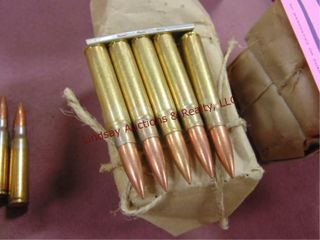 40rds military rifle ammo  size unknown