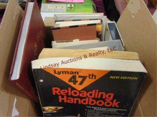 Box of 7 reload books