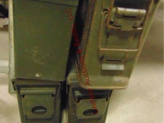 4 metal 30 cal ammo cans