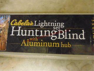 Cabelas lighting hunting blind