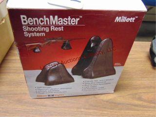 Millett bench master shooting rest