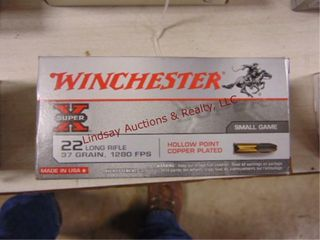 1 Brick 500rd 22lR WInchester SuperX HP Bullet