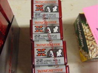 500rds  5 packs  Winchester Super X 22lR