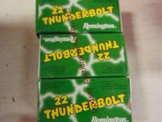 Remington 150rd 22 Thunderbolt 22lR