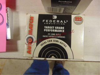 Federal 325pack 22lR  40rds