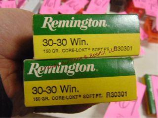 2 bxs  40rds  30 30 Remington