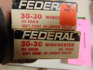 2bxs  40rds  30 30 Federal