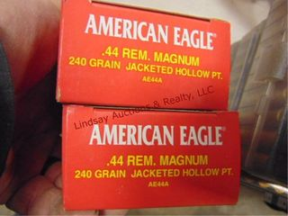 2 bxs  100rds  44mag American Eagle
