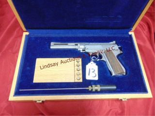 Wildey Firearms Co   SS engraved  dated 1976