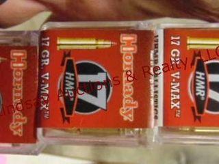 3 bxs  150rds  Hornady 17HMR ammo