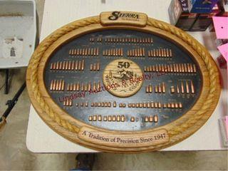 Sierra 50th Anniversay Bullet Display  missing 3