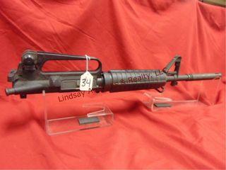 AR M15 HC upper Hbar 5 56 cal w  flash 24  overall