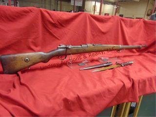 ASFA ANKAR 1940 Turkish Mauser w  bayonette