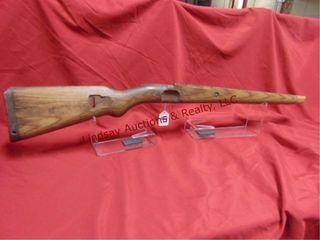 Wood mauser stock