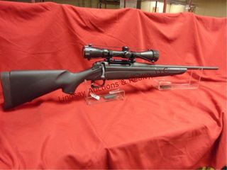 Remington  syn stock  1 mag  3 9x40 scope
