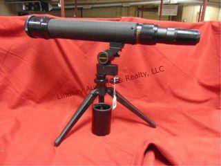 Bushnell 20 60 x 60 spotting scope w  tripod