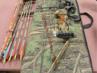 PSE Compound bow  draw length 30  sights