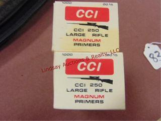2000  CCI 250 large Rifle Magnum primers