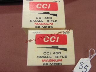 2000  CCI 450 Small Rifle Magnum primers