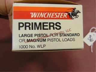1000  Winchester large pistol for Standard or