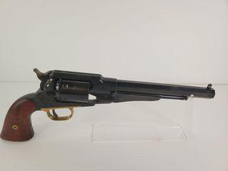 F  llI Pietta 1858 Remington Black Powder Revolver