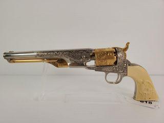 General Custer 1861 Navy Pistol Non Firing Replica