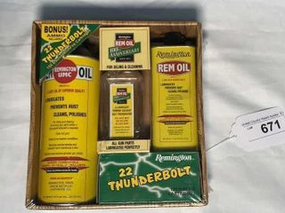 Remington Cleaning Kit Bonus Thunderbolt Ammo
