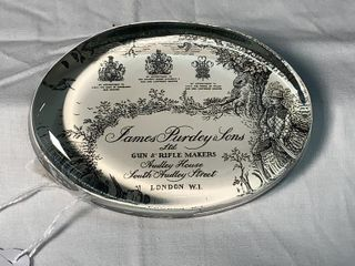 4  James Purdey   Sons Paperweight