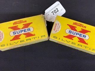 2  Western Super X Silver Tips