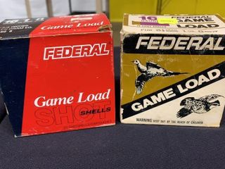 2  Boxes of Federal Game load Shells