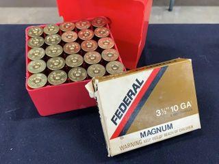 Federal 10 Gauge Shells   Winchester 12 Gauge AA