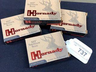 4  Hornady SST 20Ga Shotgun Slug Boxes