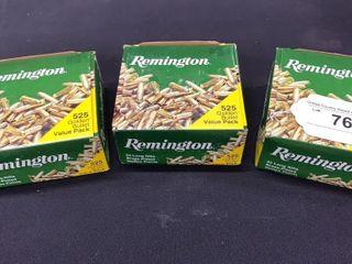 3  Remington  22lR Golden Bullet Packs