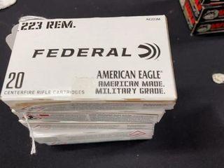 4  Federal  223 Rem Ammo