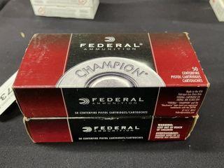 2  Federal  45 Auto Ammo