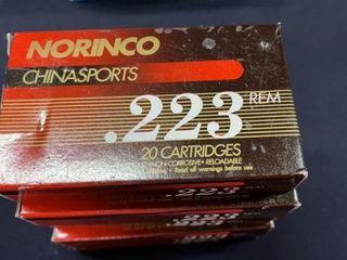 5  Norinco  223 Rem Boxes