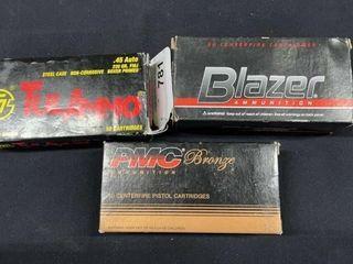 PMC  Blazer    Tulammo  45 Auto Boxes