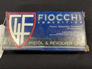 Fiocchi 40 S W Ammo