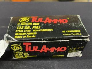 TulAmmo 7 62mm Ammo