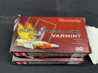 f 2  Hornady 204 Ruger Varmint Ammo