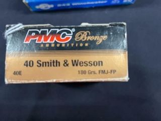 PMC Bronze 40 S W Box