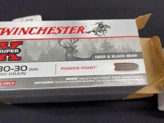 2  Winchester Super X 30 30 Win Boxes