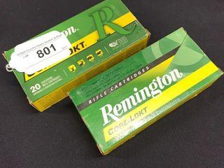 2 boxes of Remington Core lokt 45 70 rifle