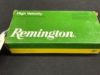1 box of Remington high velocity30 30 Win
