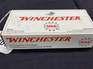 1 box of Winchester 7 62 x 39mm full metal jacket