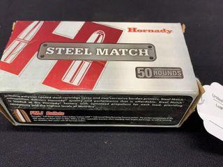 1 box of Hornady Steel Match 30 carbine